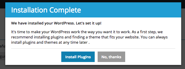 5. Instalacion plugins para WordPress