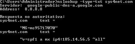 nslookup-windows-SPF